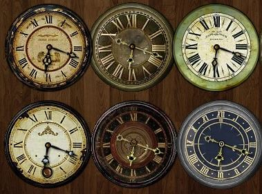 Retro Clocks - гаджет часов для Windows 7, 8.1 и Windows 10