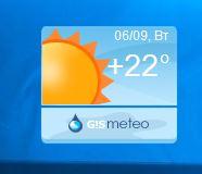 Gismeteo - гаджет погоды на русском для windows 7, windows 8.1 и windows 10