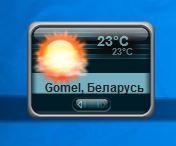ProWeather - гаджет погоды на русском для windows 10, windows 8.1 и windows 7